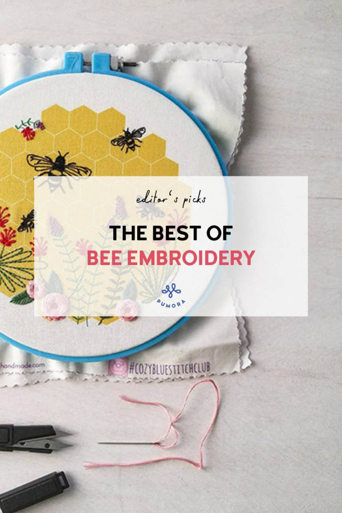 the best of bee hand embroidery