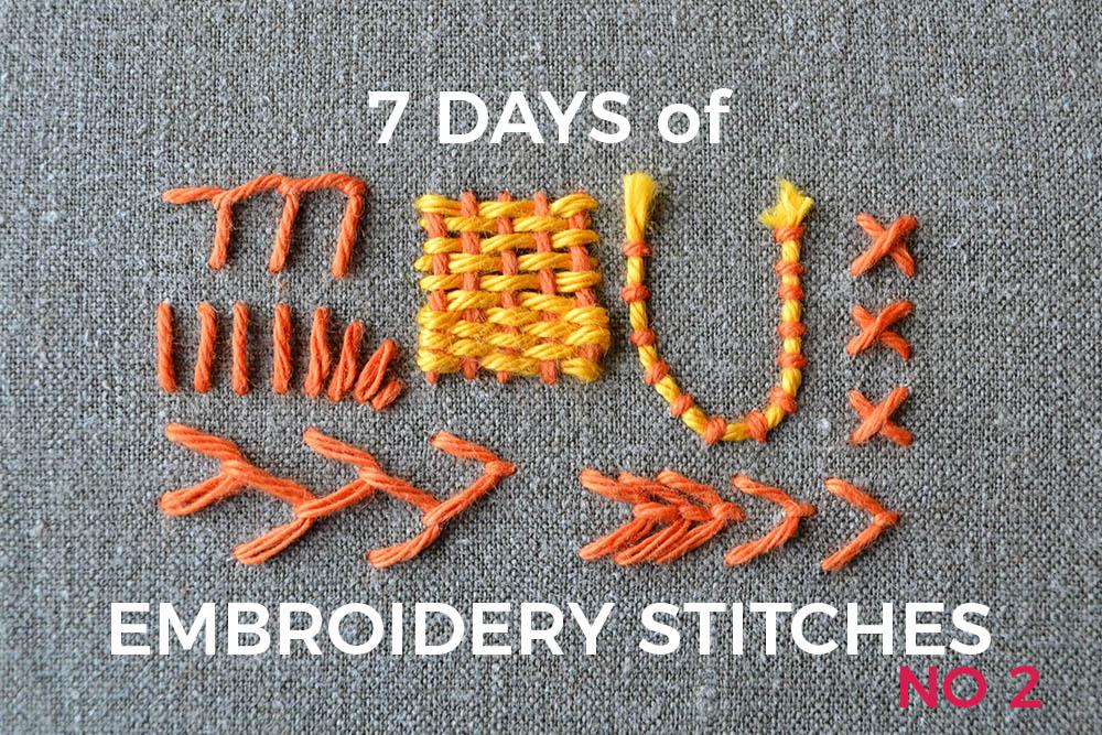 7 days of stitches