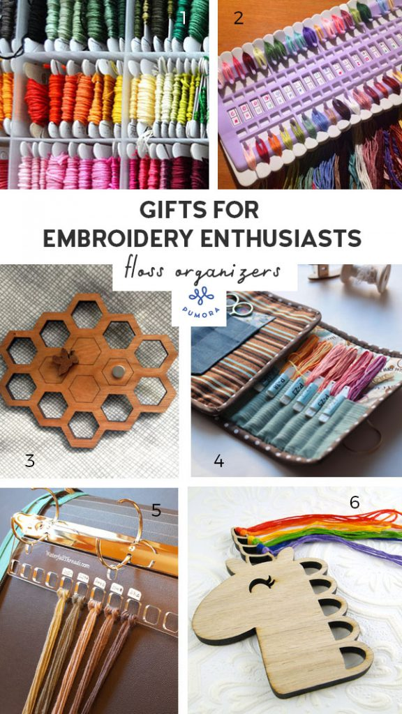 gifts for embroidery enthusiasts floss organizers