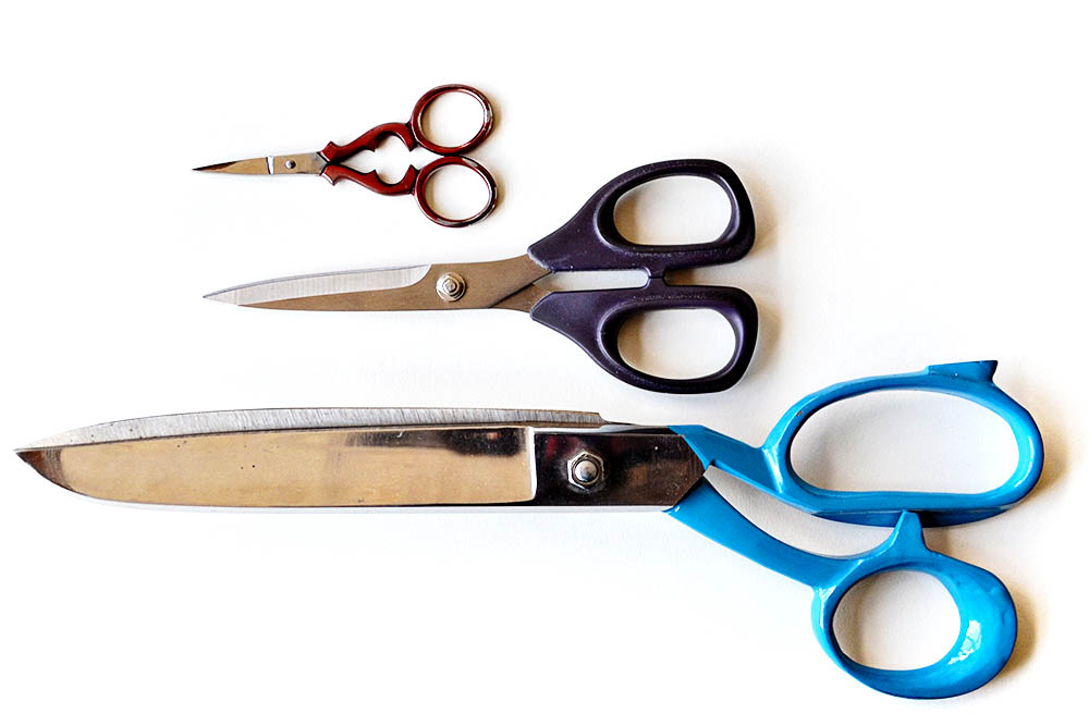 embroidery scissors - embroidery tools for beginners