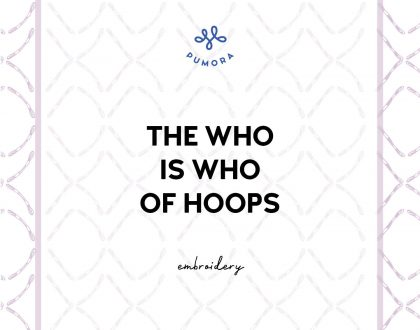 Embroidery hoops – The Who is Who of Hoops –