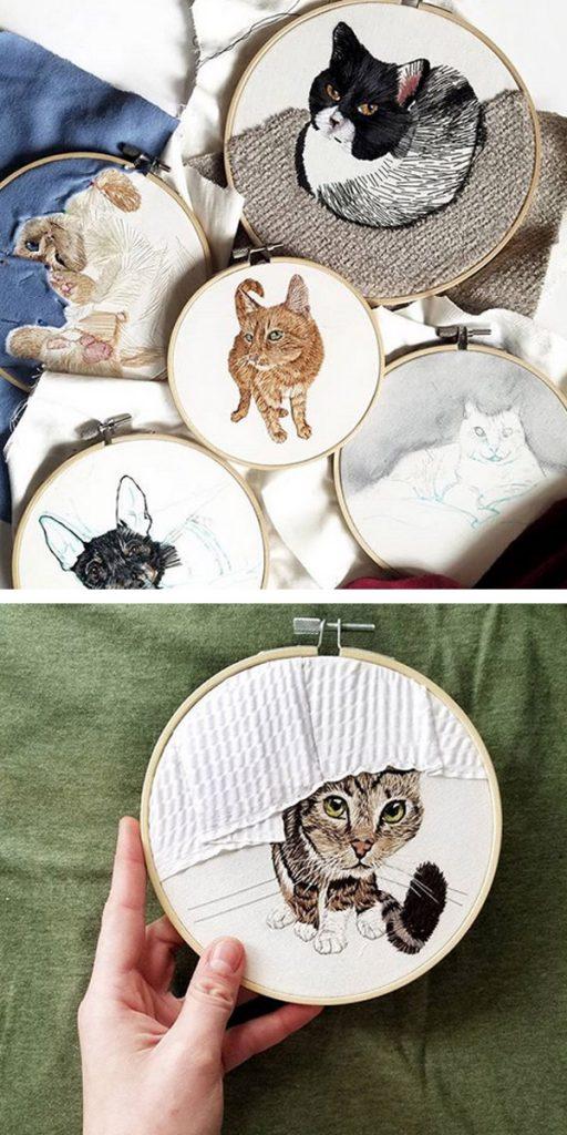 custom pet portraits - Anya Helm interview