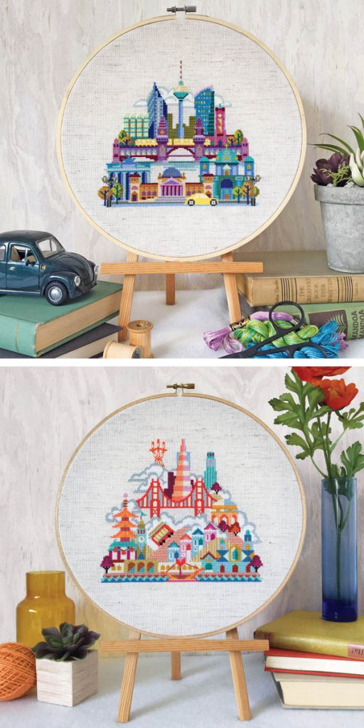 satsuma street interview cross stitch cities 1