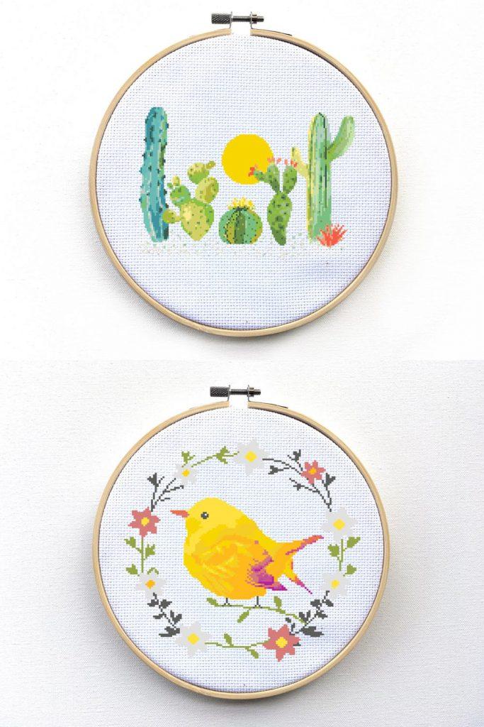 happy cross stitch patterns - leia patterns interview