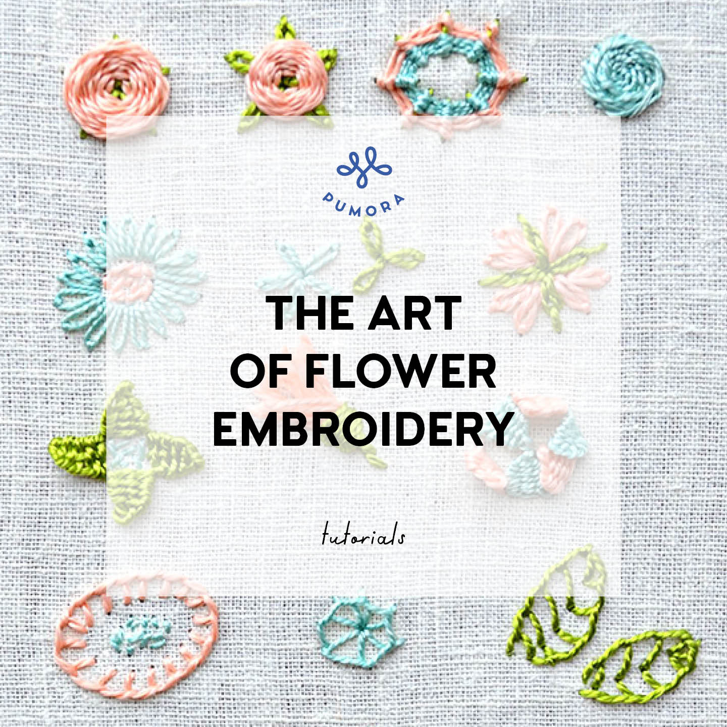 the art of flower embroidery