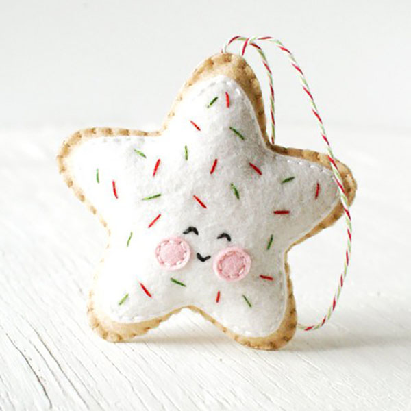 trellis and thyme sugar cookie star christmas ornament pattern