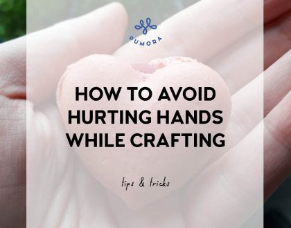 How to avoid pain in hands from embroidery