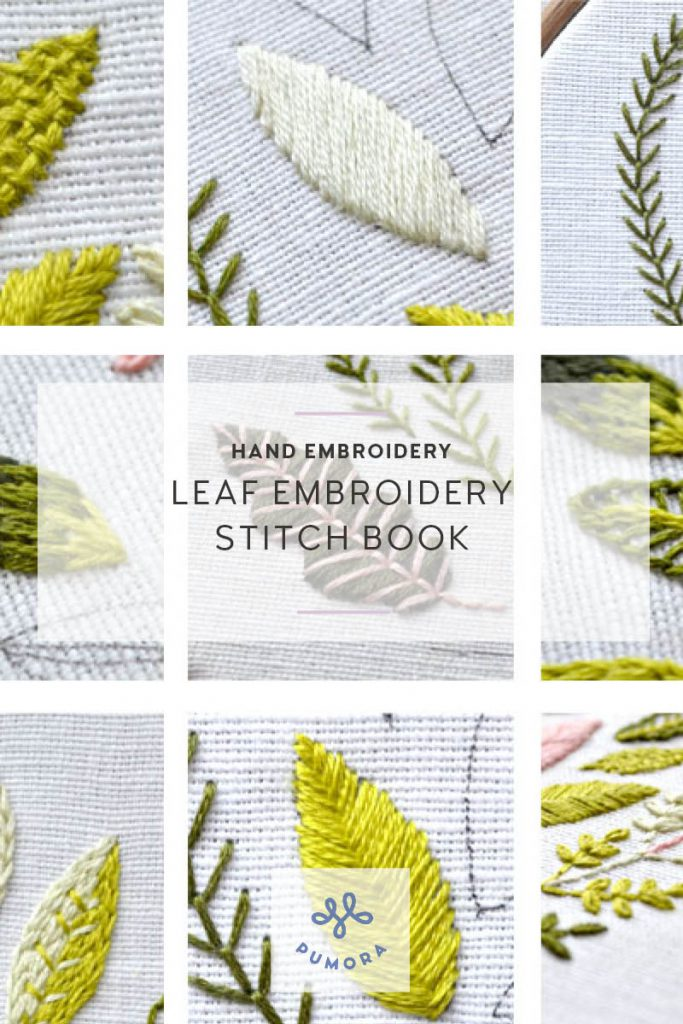 leaf embroidery ebook