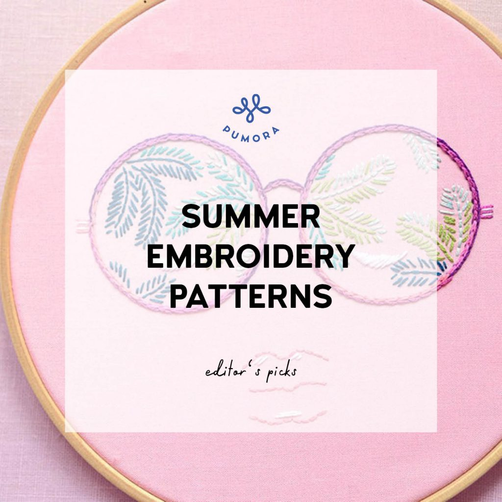 summer embroidery patterns