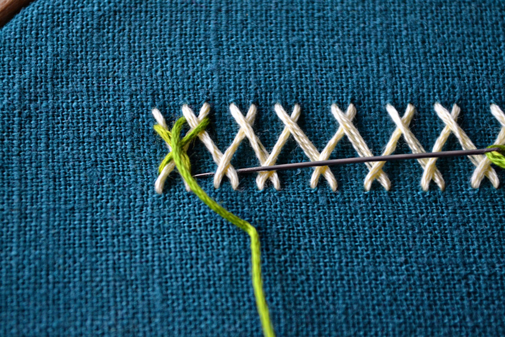 herringbone stitch