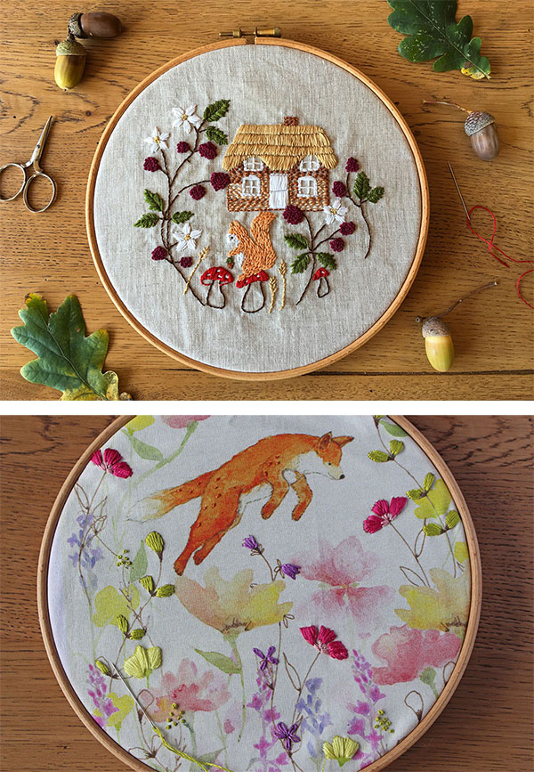 interview with bumpkin hill - embroidery designer