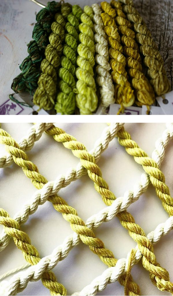 thethreadgatherer embroidery thread greens