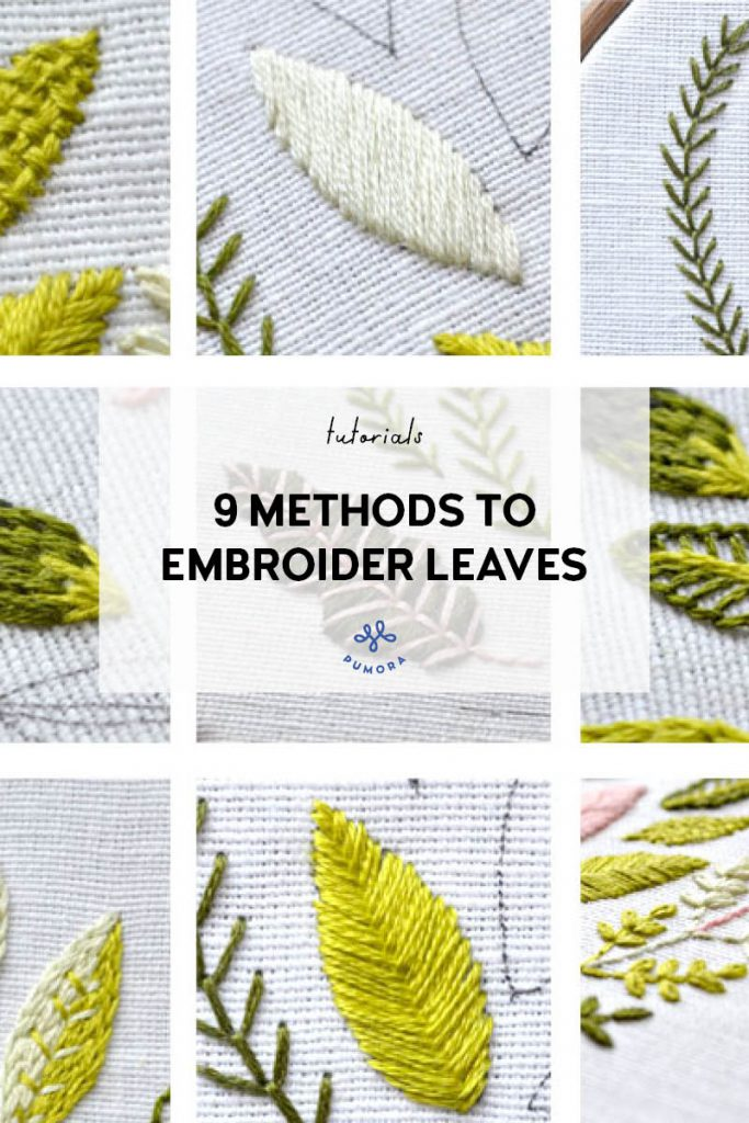 9 Methods Of Leaf Embroidery Pumora All About Hand Embroidery A collection of tropical leaf surface pattern designs for clothing, swimwear and home ware with banana leaves and palm leaves painted with waterc развернуть. 9 methods of leaf embroidery pumora