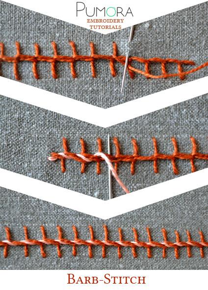 barb stitch tutorial