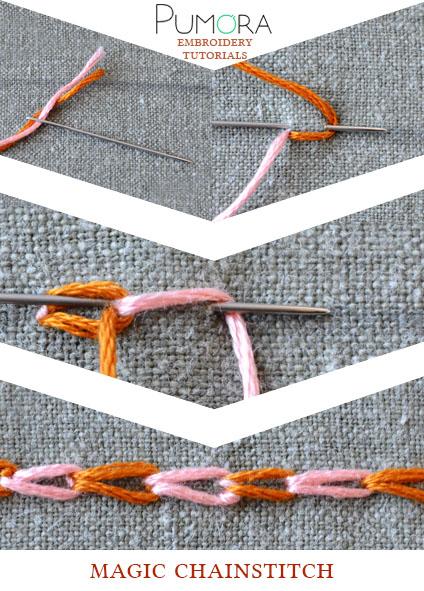 magic chain stitch tutorial