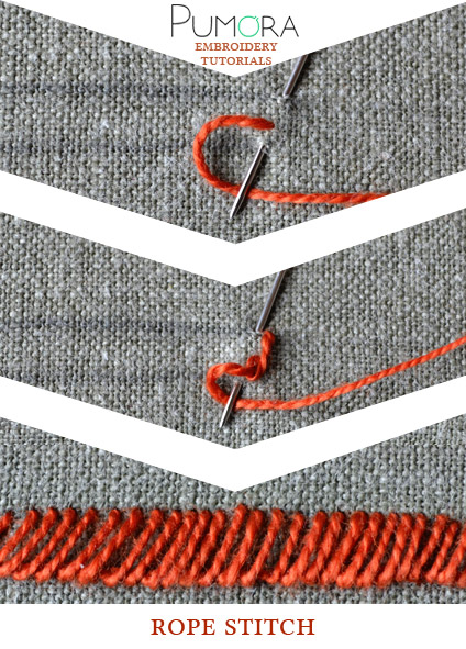 rope stitch tutorial