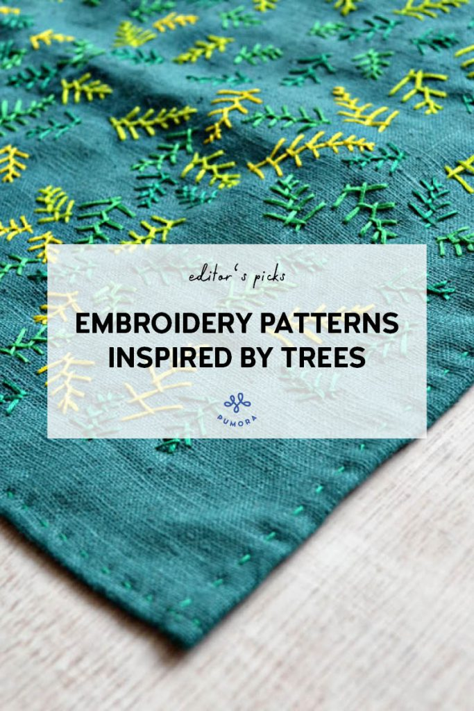 embroidery patterns inspired by trees2