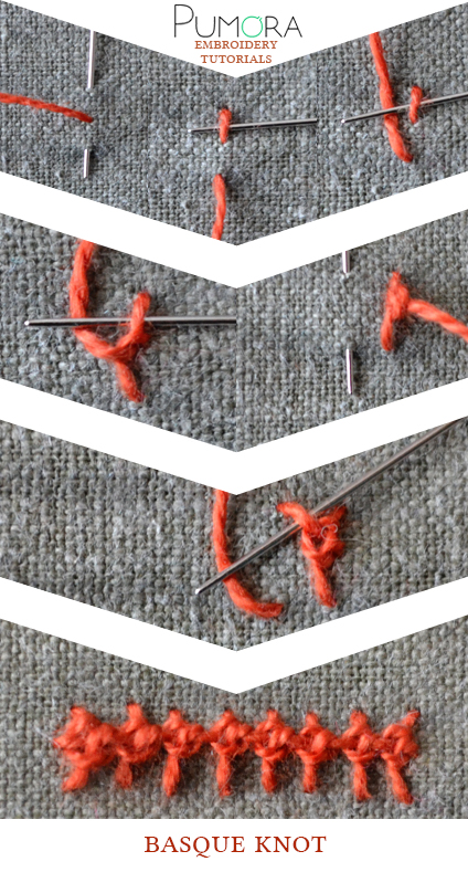 basque stitch tutorial