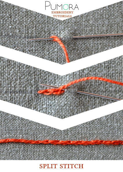 split stitch tutorial