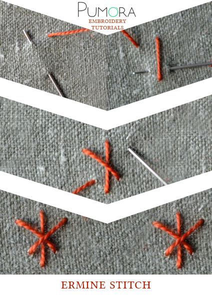 ermine stitch tutorial