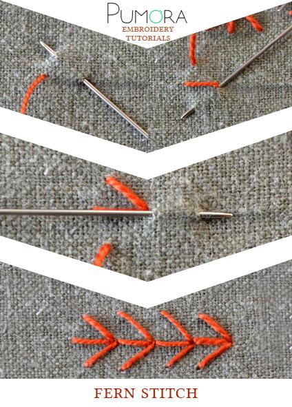 fern stitch tutorial