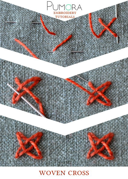 woven cross tutorial