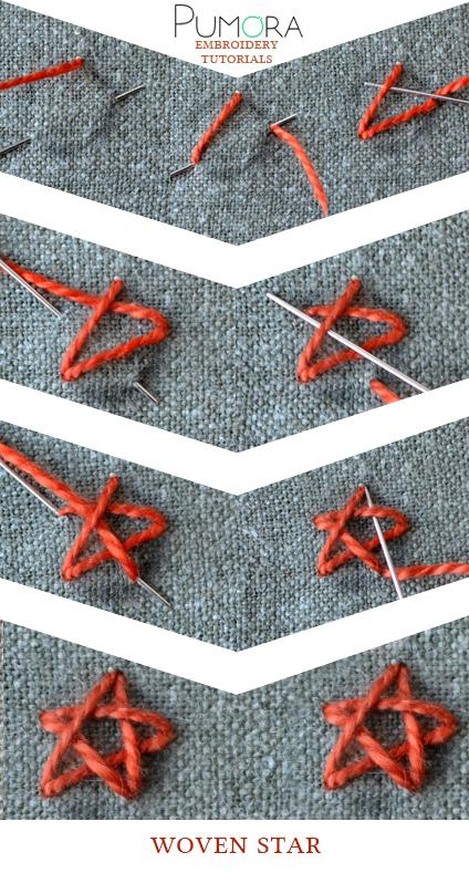 woven star tutorial
