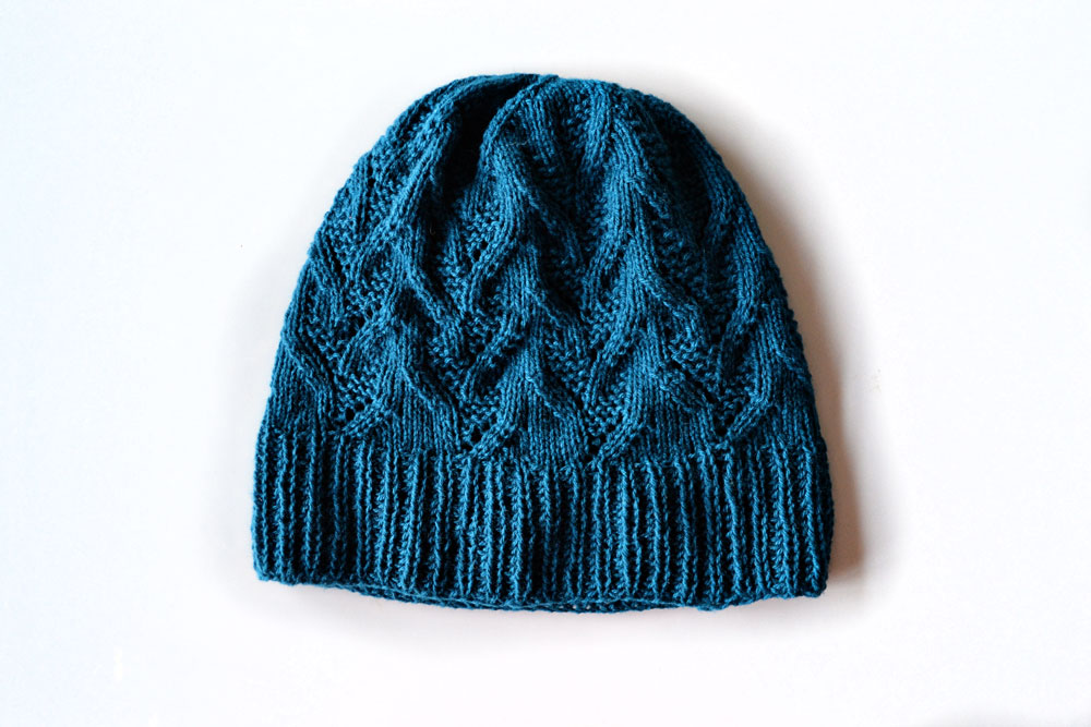 free hat knitting pattern for adults
