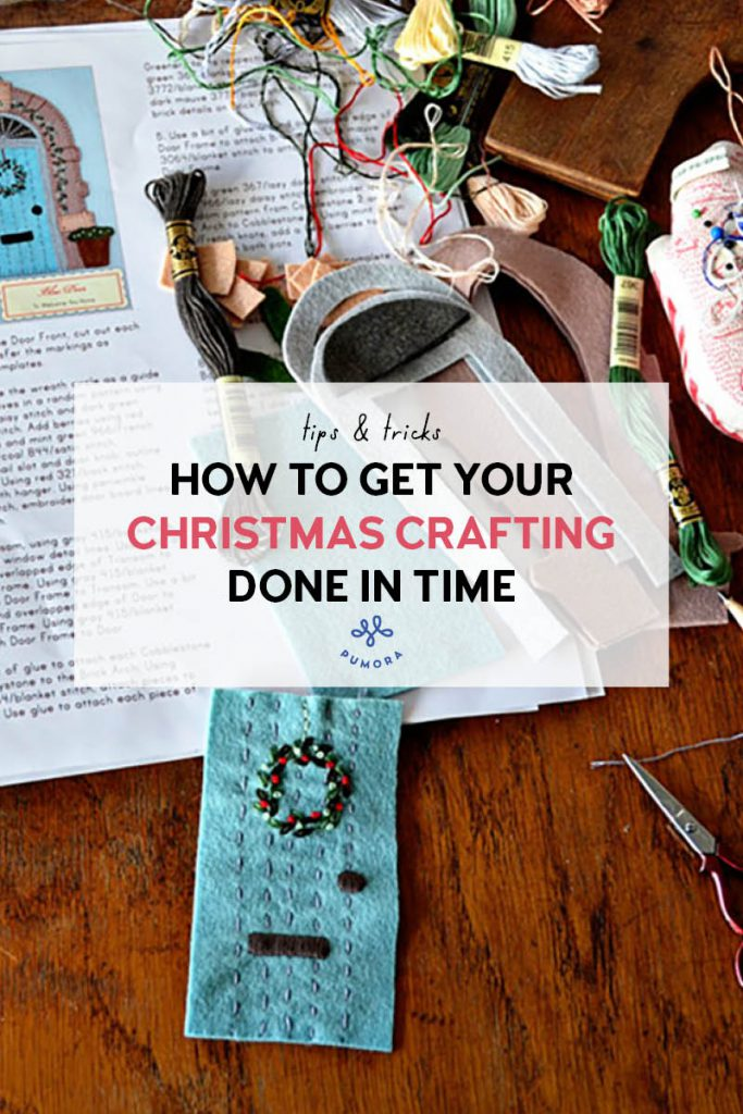 How to get your Christmas crafting done in time