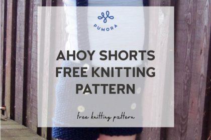 ahoy shorts free knitting pattern