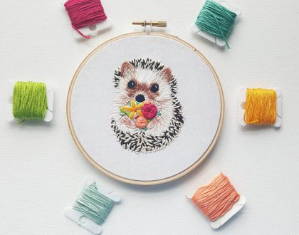 Joyful stitches with Jessica Long – Namaste Embroidery interview