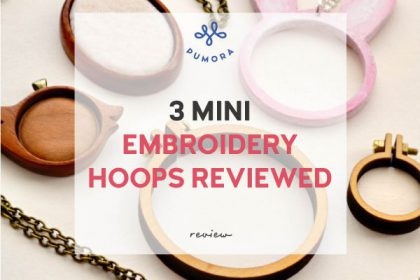 3 mini embroidery hoops reviewed