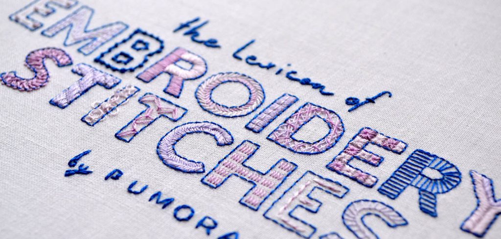 embroidery stitch lexicon banner