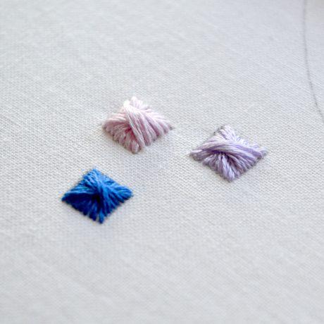 Rhodes stitch tutorial – embroidery video