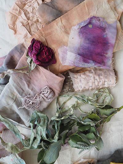 Ellie Beck natural and botanical dye