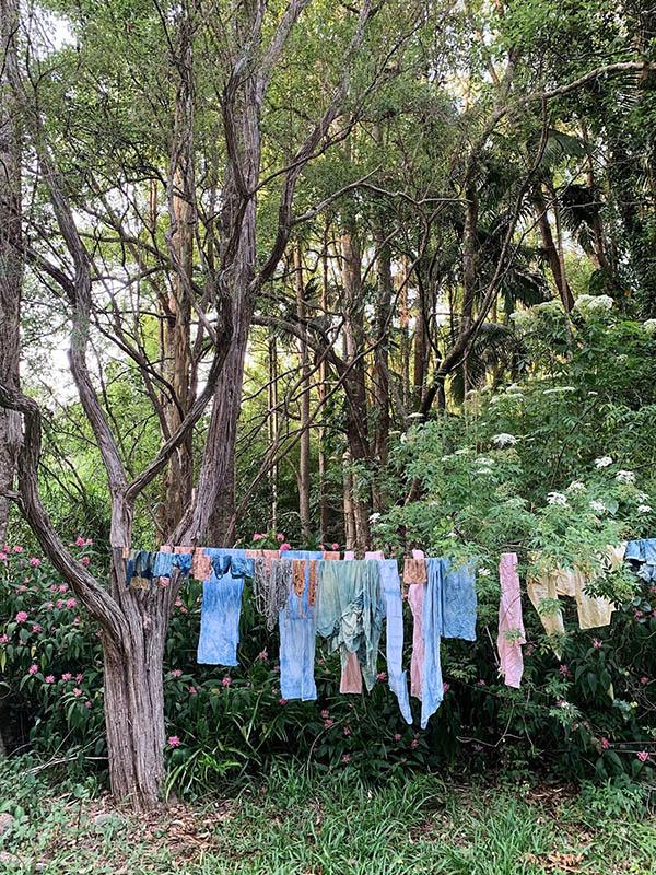 Petalplum Ellie Beck handdyed fabrics