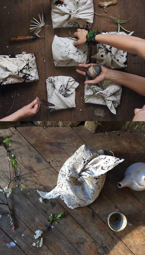 Petalplum how to make a furushiki mark making