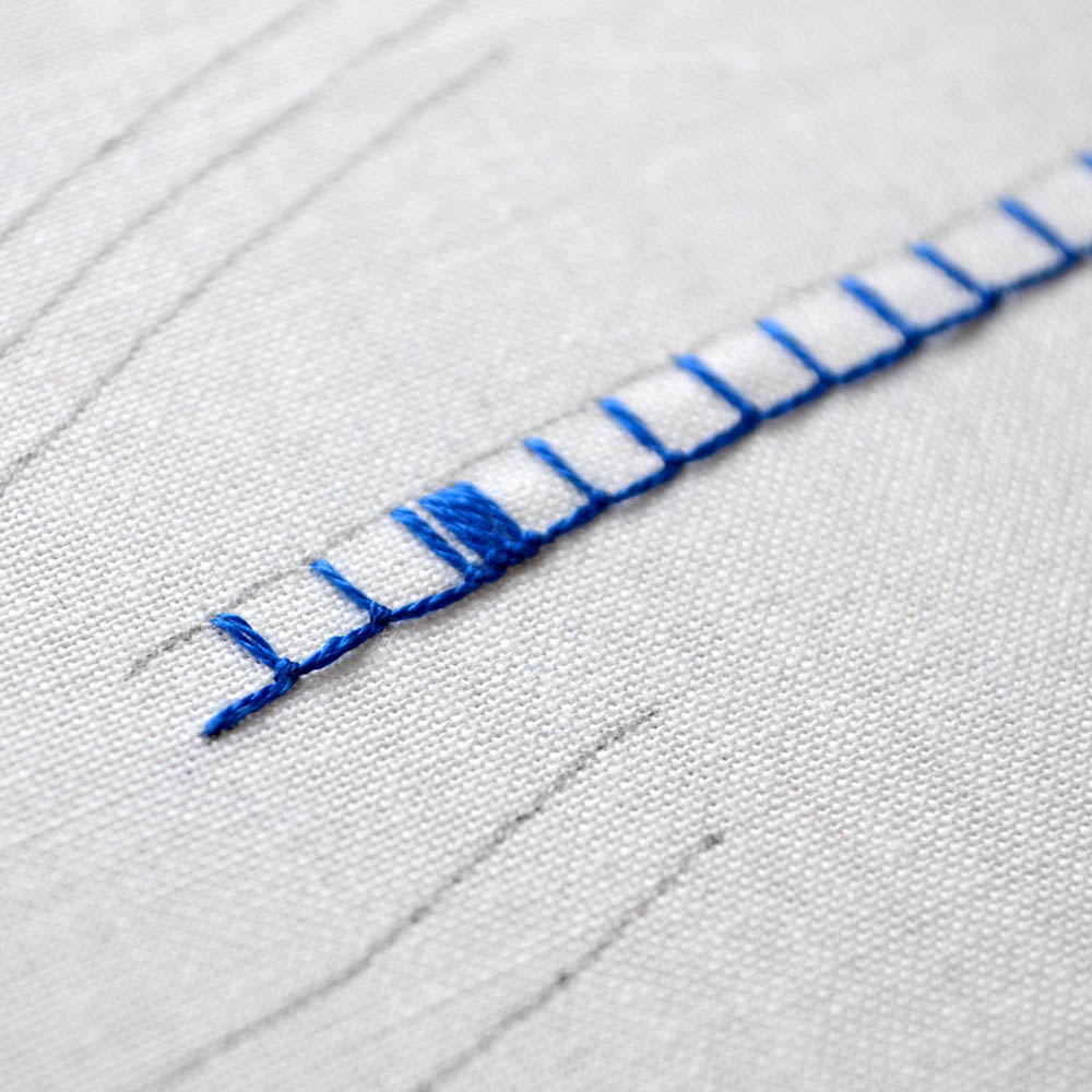 buttonhole stitch video tutorial