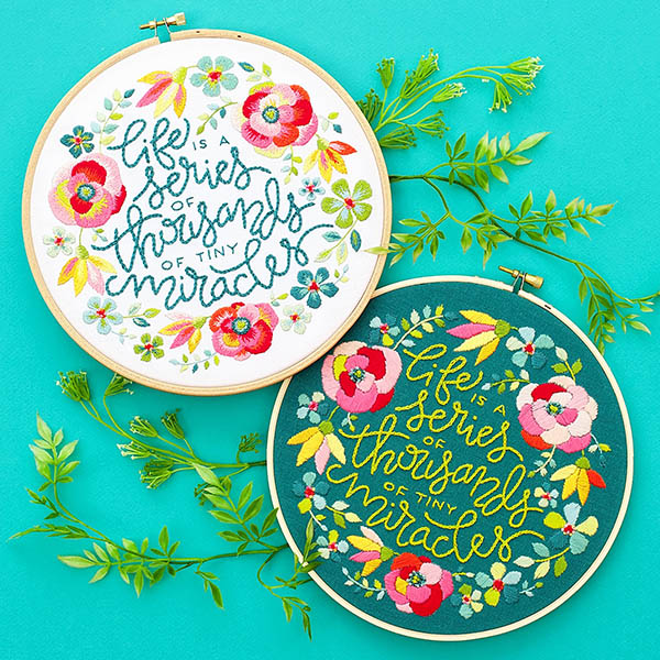 flower embroidery pdf by lolliandgrace