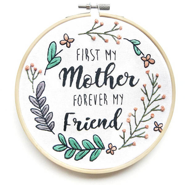 first my mother forever my friend - HoopsandExpectaions