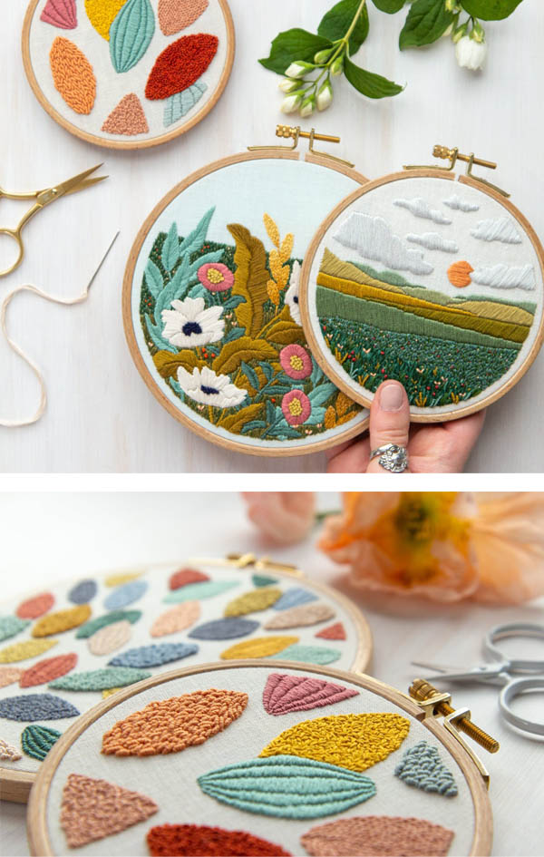 Embroidery pattern collection by LarkRising