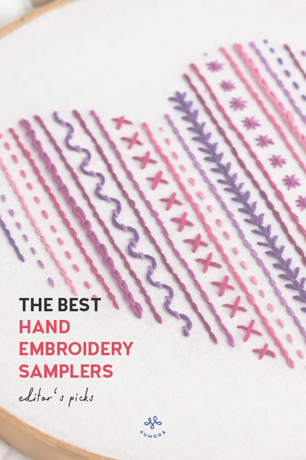the best of hand embroidery samplers